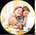 vrouw-met-kinderen